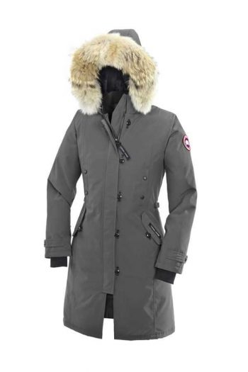 abe9ddd4994 Canada Goose Discount Website Canada Goose Kensington Parka Mid Grey For  Women