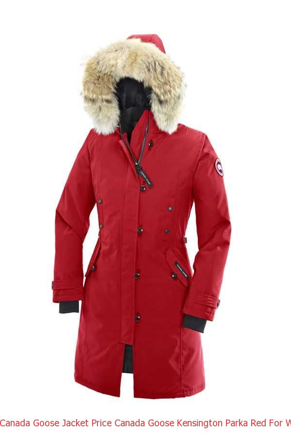 Canada Goose Jacket Price Canada Goose Kensington Parka Red For Women – Canada  Goose Sale 4cdbacd51d28