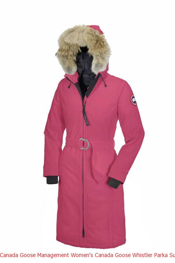 Canada Goose Management Women  s Canada Goose Whistler Parka Summit ... 44c940ce8