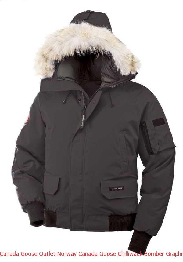 Canada Goose Outlet Norway Canada Goose Chilliwack Bomber Graphite Men s  Jackets 50f9d3468a06
